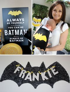Happy Friday! I always get so excited when I find an amazing boy's birthday party.  Let's face it- boy parties have to be 10 times harder to come up with than girl parties. Karrie and Elizabeth of Posh Paperiestyled this incredible Batman Birthday Party for Karrie's little super hero Frankie and it is honestly one of my all time favorite parties. I am totally