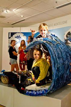 Plastic Ocean Project Inc – Ocean Trash Ocean Projects, Marine Debris, Trash Art, The New Wave, Ocean Ocean, Bean Bag Chair, Art Gallery, Plastic, Pho