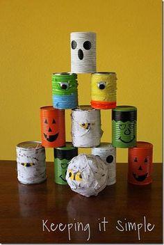 Kid Friendly Halloween Party Ideas #decoartprojects
