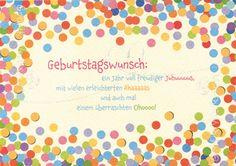 Art.Nr. 25189: Doppelkarten - Geburtstagswunsch
