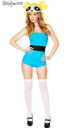 Sexy bubbles costume. #powerpuffgirls  sc 1 st  Pinterest & The Powerpuff Girls by NunnallyLol.deviantart.com on @DeviantArt ...
