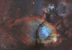 IC 1795: туманность Рыбья голова / Astro Analytics