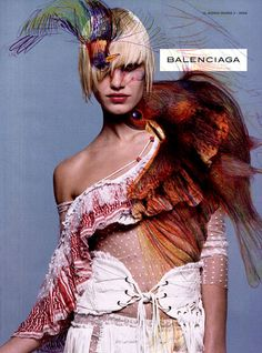 delphine balfort - one of my favorite balenciaga ads ever