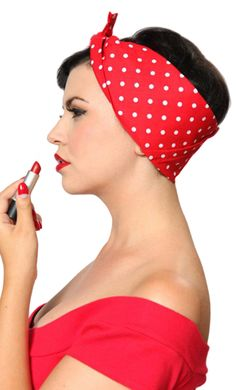 Lil' Lou Lou Bandanas- put yer hair up in a snap!   $15.00