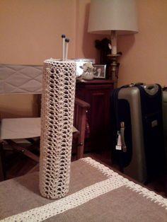 Porta agujas en hilo tejido en crochet por I.L.R.