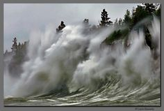 Lake Superior Storm..and right where I would love to live.