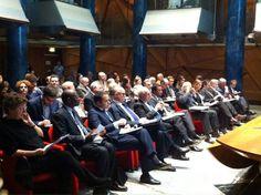 Il Consigliere diplomatico Raimondo VILLANO al Convegno sulla Nuova Costituzione della Tunisia (Roma, Camera Deputati, Sala delle Colonne, 20 marzo 2014).