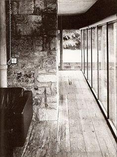 Pabellón Upper Lawn. 1962. PETER Y ALISON SMITHSON | _ Arquitecturas silenciosas