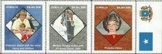 PRINCESS LADY DIANA =aparte serie/strip SOMALIA-3336-KOOPJE