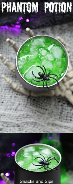 Need a fun but easy to make Halloween cocktail. Phantom Potion is party perfect! Need a fun but easy to make Halloween cocktail. Phantom Potion is party perfect! Simple to make it looks eerie and tastes great. Source by freutcake Easy Halloween Cocktails, Halloween Punch, Halloween Food For Party, Halloween Cupcakes, Halloween 2020, Holiday Cocktails, Halloween Stuff, Halloween Halloween, Halloween Treats