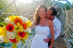 It is great to see couples so happy and playful on their Bahamas Wedding day