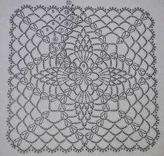 Cuadrado punto fantasía crochet y truco para guardar el tejido - Milcentdeu