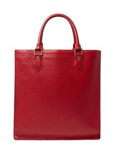 Red Epi Sac Plat PM by Louis Vuitton at Gilt