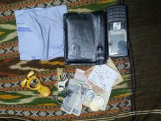 My pocket filled with wallet , currency , keys and anything n everything i need !!!!