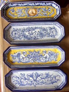 Preciosa Orza De Ceramica Renacentista Talavera De La