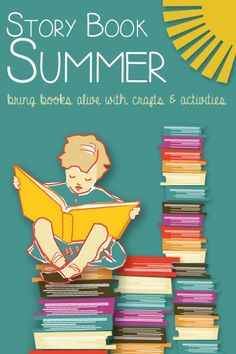 Story Book Summer on Rainy Day Mum - bringing books alive with crafts and activities all summer long