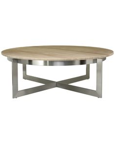 Spotted this Irma Round Cocktail Table on Rue La La. Shop (quickly!).