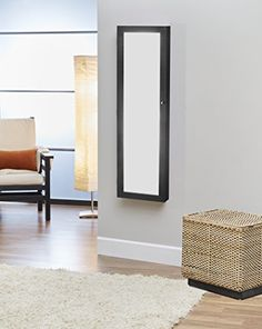 Special Offers - InnerSpace Luxury Products Over-The-Door Wall-Hanging Mirrored Jewelry Armoire Walnut - In stock & Free Shipping. You can save more money! Check It (April 12 2016 at 08:29AM) >> http://jewelryarmoireusa.net/innerspace-luxury-products-over-the-door-wall-hanging-mirrored-jewelry-armoire-walnut/