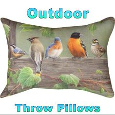 Outdoor throw pillows at LynnwoodPlace.com