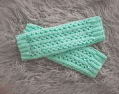 Soft and Cozy Leg Warmers Knitting Pattern