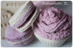 Cupcake / Macarons / Macaroons    Pâte à sel