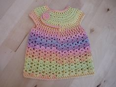 Ravelry: New Baby Crocheted Spring Dress pattern by Laura Hooker. 3.99