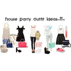"Outfit For House Party Tonight"" By Callie Camille Fine ❤ Liked On"