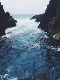 sea swimming