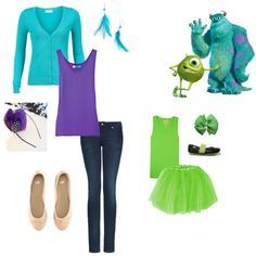 Monster's Inc - Mommy & Me