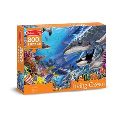 LIVING OCEAN JIGSAW PUZZLE