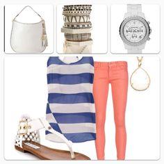 Cute in white accessories