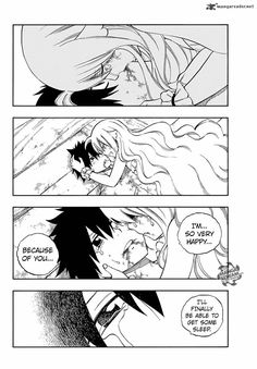 Zeref x Mavis Kiss Fairy tail manga chapter 537