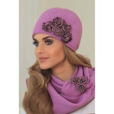 Wełniana #czapka #damska #Kamea Eleonora