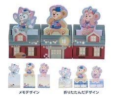 東京ディズニーシー 15周年 ダッフィー メモセット