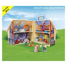 5167 - Prenosný domček pre bábiky - Hracky - Playmobil