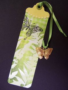F4A67 QFTD63 Foliage Bookmark by hobbydujour - Cards and Paper Crafts at Splitcoaststampers