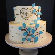 1000 Ideas About Tree Wedding Cakes On Pinterest