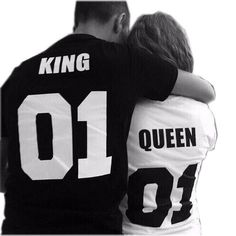 King And Queen Relationship Goal T-Shirts.  relationshipgoals  lovequotes   infographic   0900502ce5b