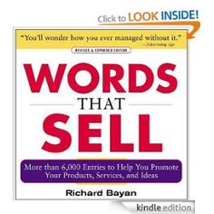 'Words That Sell' by Richard Bayan - £7