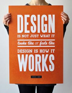 A Steve Job's quote on a posterhttp://pinterest.com/pin/create/bookmarklet/#