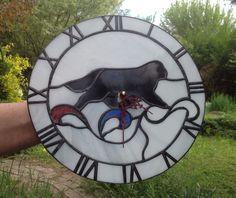 Clock with dog
