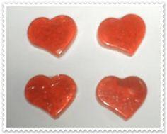 corações essencia de morango