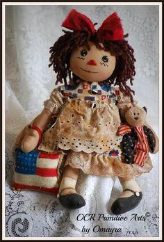 Raggedy Americana Annie