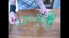 Reciclaje de Botellas Plasticas PET, Manualidades con Tiras e Hilo Ecologico. - http://cryptblizz.com/como-se-hace/reciclaje-de-botellas-plasticas-pet-manualidades-con-tiras-e-hilo-ecologico/