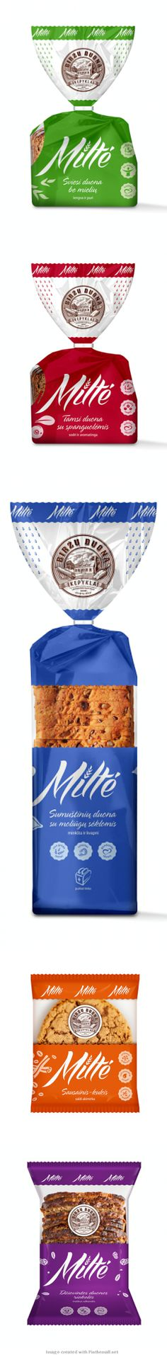 Here's the rest of the yummy looking baked goods #packaging PD created via http://www.packagingoftheworld.com/2014/02/birzu-duona-milte-miss-flour.html
