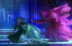 Paul Felix concept art for TANGLED.  Love these colors!