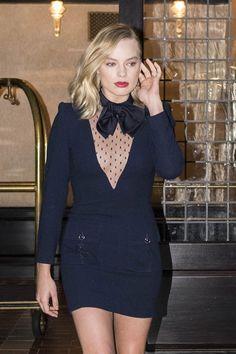 "Margot Robbie Skates into ""Good Morning America"" in Givenchy   Tom + Lorenzo"