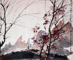 """Les 10 oeuvres d'art chinoises les plus chères du monde - """"Landscapes of the Four Seasons"""" de Fu Baoshi - Il parvint à créer un style empirique mais élégant grâce à son intégration de l'atmosphère poétique. La toile fut vendue à un collectionneur 22,48 millions d'euros."""