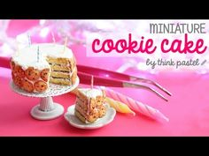 Simplystella's Sketchbook: DIY: Miniature Birthday Cookie-Cake (Video)
