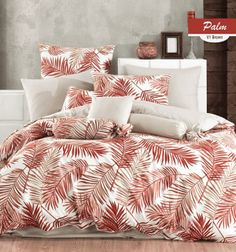 Bavlnené obliečky - PALMS Comforters, Blanket, Palms, Bed, Lush, Creature Comforts, Quilts, Palmas, Stream Bed